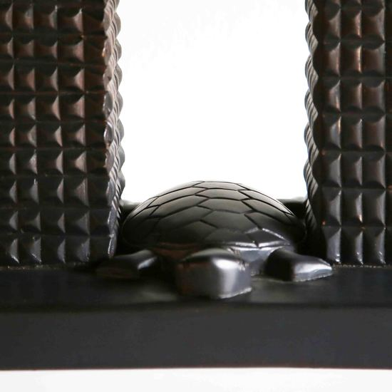 Rectangular tabouret with turtle avana africa treniq 1 1516361295646