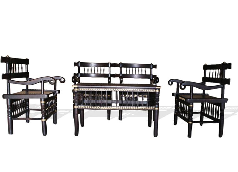 Malinka set of 4 chairs and 1 table avana africa treniq 1 1516362616760