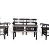 Malinka set of 4 chairs and 1 table avana africa treniq 1 1516362616754
