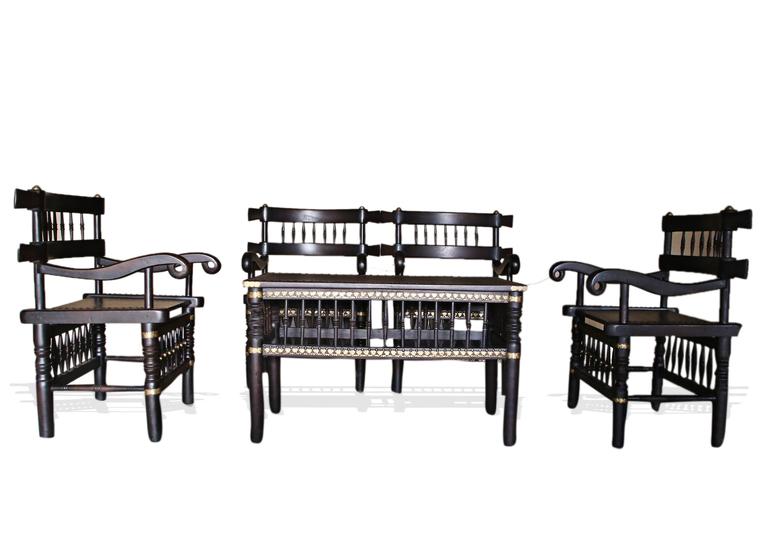 Malinka set of 4 chairs and 1 table avana africa treniq 1 1516362616791