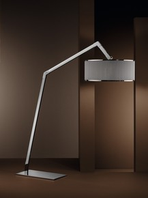 Ginevra-Arco-Pleated-Shade-Chrome-Floor-Lamp_Younique-Plus_Treniq_1