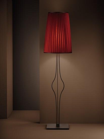 Divina pleated shade burnished floor lamp younique plus treniq 1 1516630571664