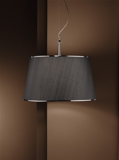 Divina flat shade chrome pendant lamp younique plus treniq 1 1516630775709