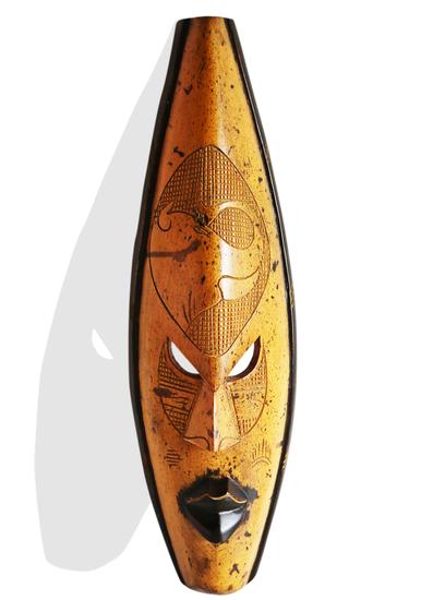 Ghana yellow giraffe mask avana africa treniq 1 1516700152751