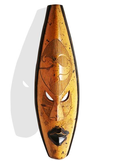 Ghana yellow giraffe mask avana africa treniq 1 1516700152754