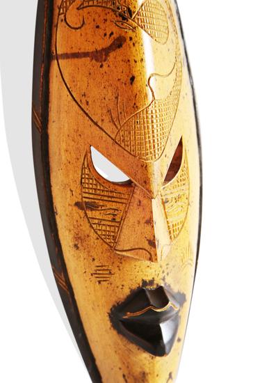 Ghana yellow giraffe mask avana africa treniq 1 1516700152756