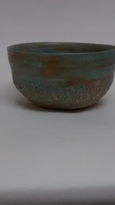 Cereal-Bowl.Matt-Blue.Textured-Detail_109-Ceramics_Treniq_0