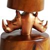 Bronze double head rhino lamp avana africa treniq 1 1516795646670