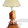 Bronze double head rhino lamp avana africa treniq 1 1516795646661
