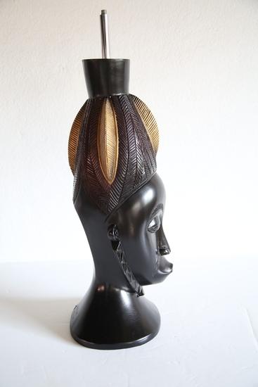 Baule mask   gold and black avana africa treniq 1 1516796954681