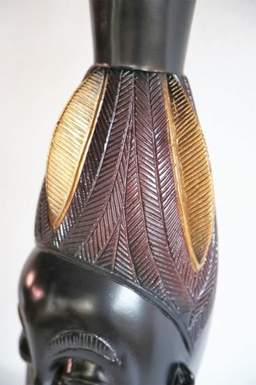 Baule mask   gold and black avana africa treniq 1 1516796956230