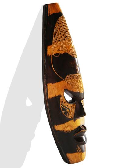 Striped elephant mask avana africa treniq 1 1516871274782