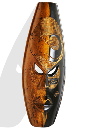 Black yellow elephant mask avana africa treniq 1 1516871580934