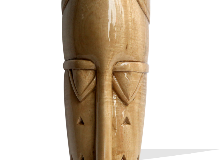 Stylized senoufu mask   light avana africa treniq 1 1516872632294