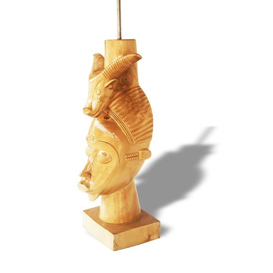 Baule mask with ram on head avana africa treniq 1 1516877290195