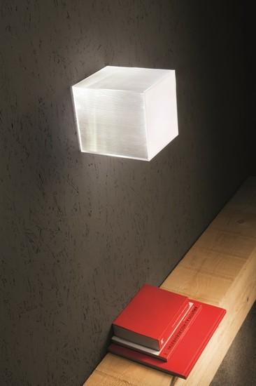 Beetle mini cube white clear ribbed studio italia design treniq 1 1516892050242