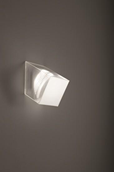 Beetle mini cube 60%c2%b0 white clear ribbed studio italia design treniq 1 1516892378524