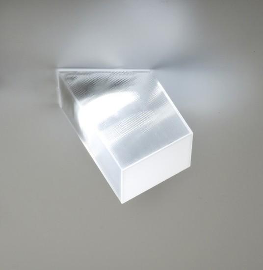 Beetle mini cube 60%c2%b0 white clear ribbed studio italia design treniq 1 1516892380687