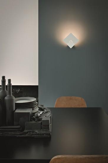Puzzle twist wall lamp matt white (3000k) studio italia design treniq 1 1516966902830