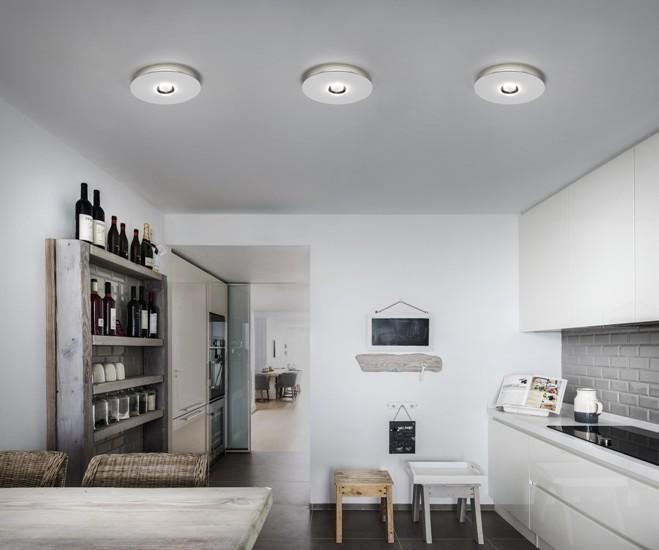 Bugia single ceiling lamp white (3000k) studio italia design treniq 1 1516975842134