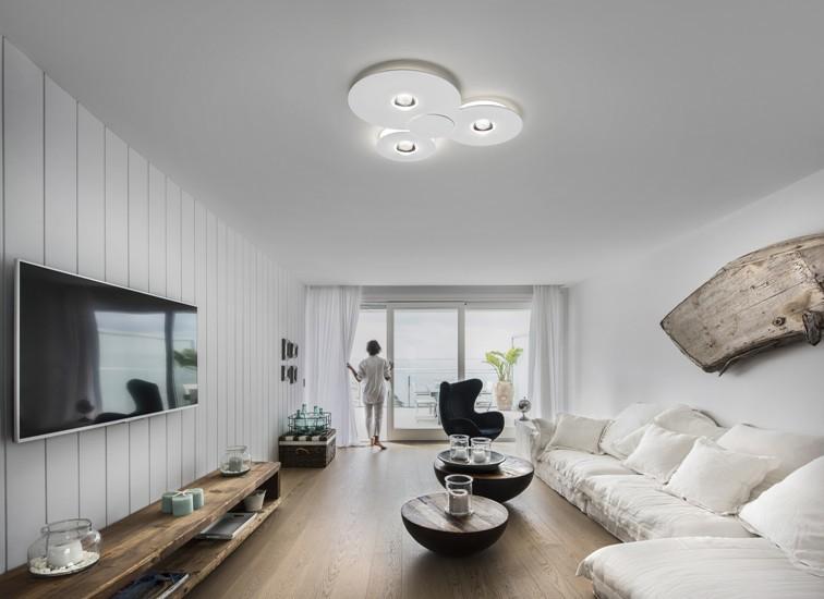 Bugia single ceiling lamp white (3000k) studio italia design treniq 1 1516975846153