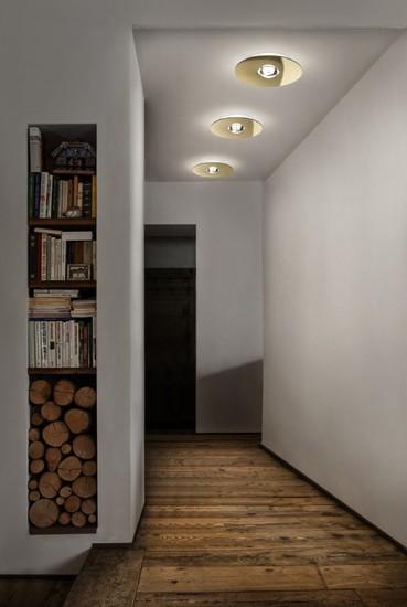 Bugia single ceiling lamp gold (3000k) studio italia design treniq 1 1516976048950