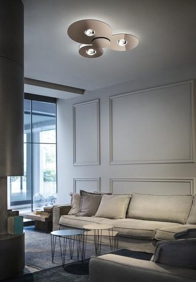 Bugia single ceiling lamp glossy copper (3000k) studio italia design treniq 1 1516976462443