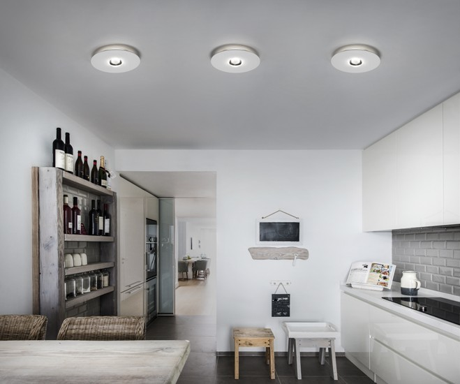 Bugia double ceiling lamp white (3000k) studio italia design treniq 1 1516976708604