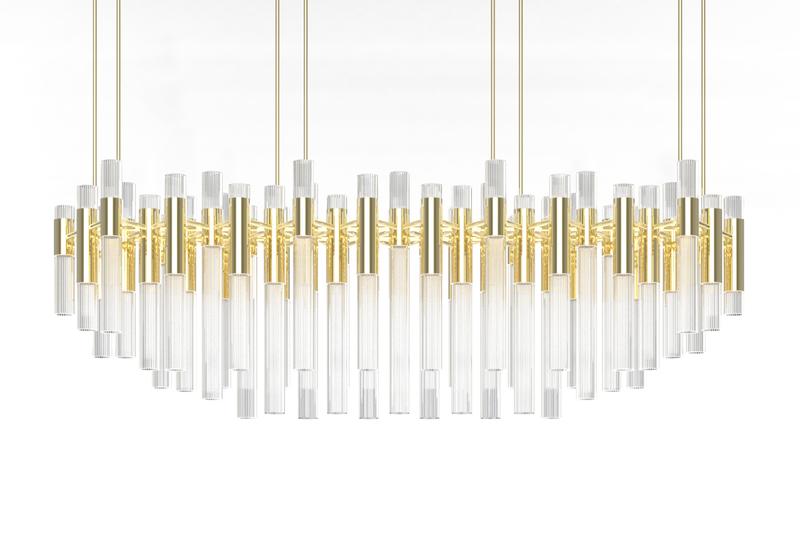 Waterfall chandelier luxxu treniq 2