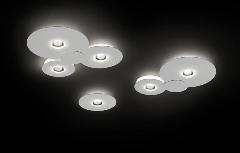 Bugia double ceiling lamp chrome (3000k) studio italia design treniq 1 1516977105239