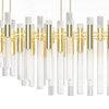 Waterfall chandelier luxxu treniq 3