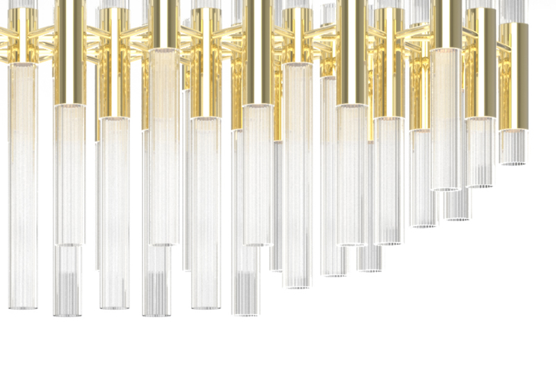 Waterfall chandelier luxxu treniq 4