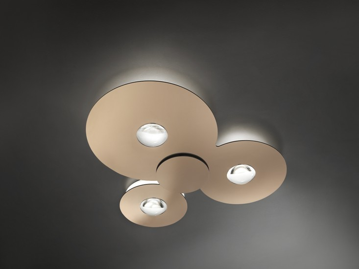 Bugia triple ceiling lamp glossy copper (3000k) studio italia design treniq 1 1516979252165