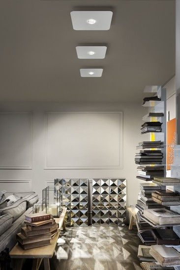 Frozen small ceiling lamp matt white 9010 (2700k) studio italia design treniq 1 1517234577795