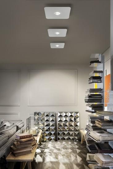 Frozen medium ceiling lamp matt white 9010 (3000k) studio italia design treniq 1 1517236131646