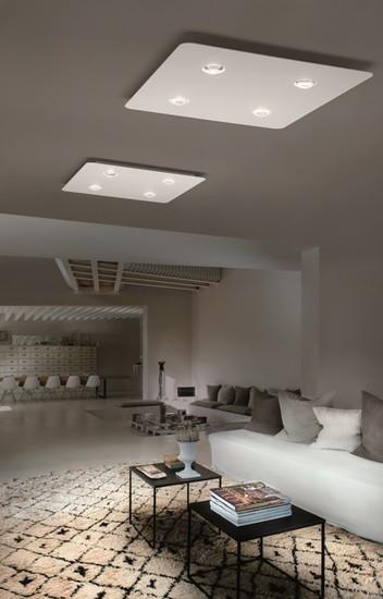 Frozen large ceiling lamp coppery bronze (2700k) studio italia design treniq 1 1517236480778