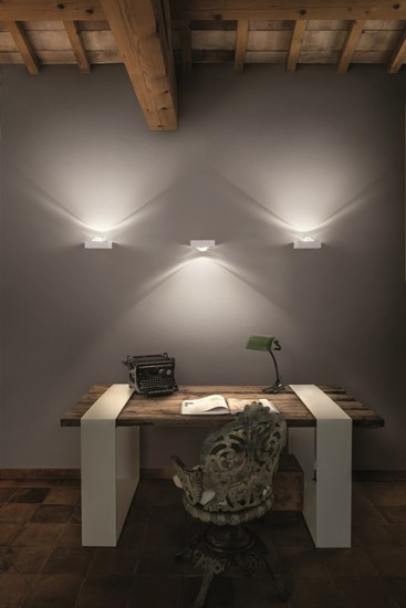 Shelf single wall lamp matt white (3000k) studio italia design treniq 1 1517237530121