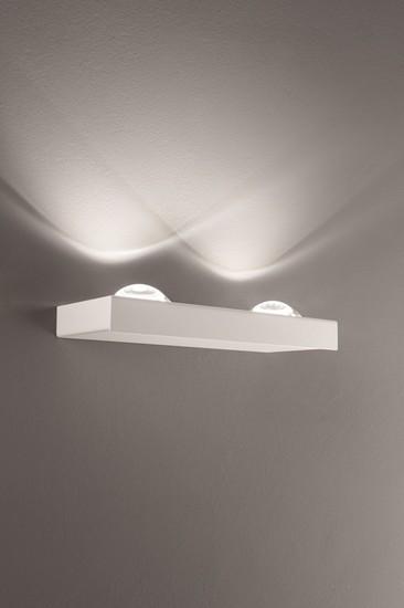Shelf double wall lamp matt white (3000k) studio italia design treniq 1 1517237642674