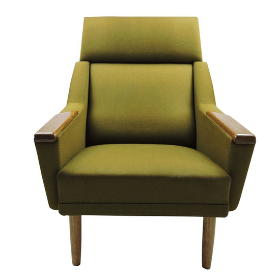 Danish green armchair danielle underwood treniq 1 1517318643306