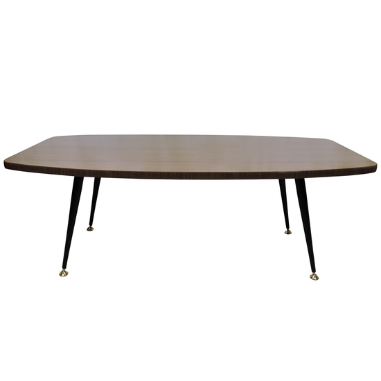 Laminated teak effect coffee table danielle underwood treniq 1 1517319678707