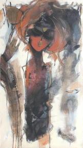 Sachin-Jaltare-A-Divine-Presence-Ii-Painting_Verandah-Art_Treniq_0