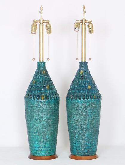 Brutalist style pair of lamps sergio jaeger treniq 1 1517944022137