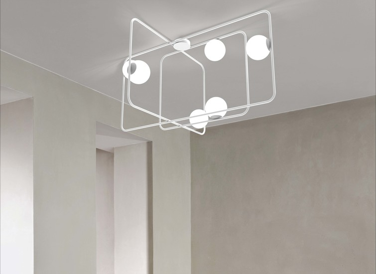 Intrigo rectangular suspension lamp white marchetti treniq 1 1518165541500