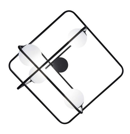 Intrigo rectangular suspension lamp black marchetti treniq 1 1518165650727