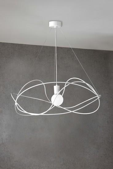 Garbuglio suspension lamp with glass sphere white marchetti treniq 1 1518174299564