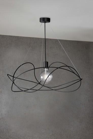 Garbuglio suspension lamp with glass sphere black marchetti treniq 1 1518174560909
