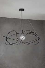 Garbuglio-Suspension-Lamp-With-Glass-Sphere-Black_Marchetti_Treniq_1