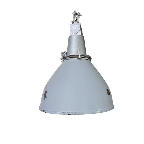 Grey enamel british vintage industrial lamp danielle underwood treniq 1 1518542582922