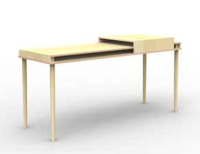 Double Dresser Tray Slide