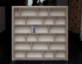 Wooden CD Shelf